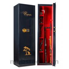 Оружейный шкаф VALBERG САФАРИ EL GOLD (черный)