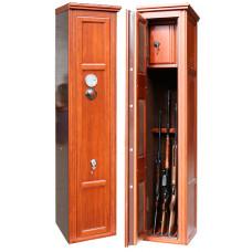 Элитный сейф для оружия ОШЭЛ-435SC с отделкой массивом дуба
