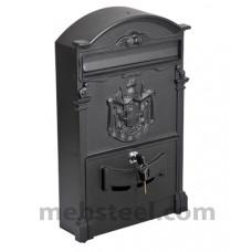 Почтовый ящик уличный ВН-12 (черный)