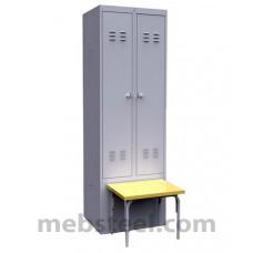 Шкаф металлический ШР-22 600 Ск