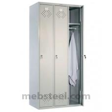 Шкаф для раздевалок ПРАКТИК LS-31