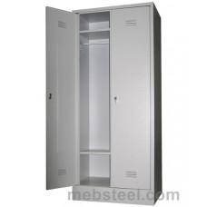 Металлический шкаф для одежды ШР-22/800