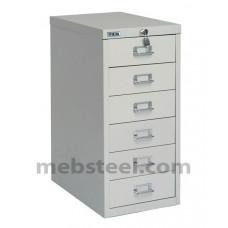 Шкаф многоящичный ПРАКТИК MDC-A4/650/6