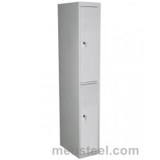 Металлический шкаф для одежды ШР-12/300