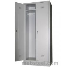 Металлический шкаф для одежды ШР-22/600