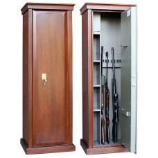 Элитный сейф для оружия Сафари D с отделкой шпоном дуба.