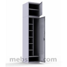 Шкаф металлический универсальный А-Ф