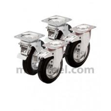 Комплект колес (d=100мм)