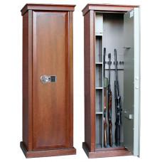 Элитный сейф для оружия Сафари D EL с отделкой шпоном дуба.