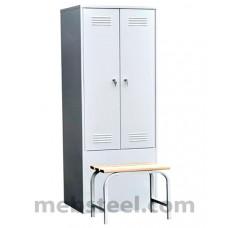 Шкаф металлический ШО-800 Ск
