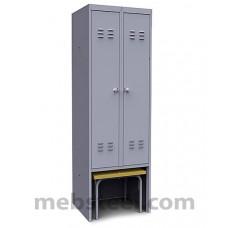 Шкаф металлический ШР-22 600 Вск