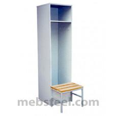 Шкаф металлический для раздевалок