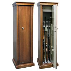 Элитный сейф для оружия Арсенал D с отделкой шпоном дуба