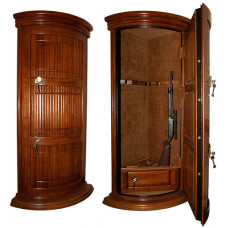 Элитный сейф для оружия ОШЭЛ-535УП с отделкой деревом