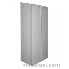 Металлический шкаф для одежды ШР-22/800НК