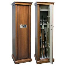 Элитный сейф для оружия Арсенал D EL с отделкой шпоном дуба