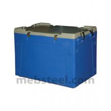Изотермический контейнер с крышкой 220 (150, 100) литров