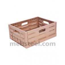 Пластиковый ящик складной 400x300x163