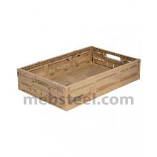 Пластиковый ящик складной 600x400x113 (133, 163, 188)