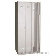 Металлический шкаф для одежды ШР-101(900)