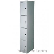 Металлический шкаф для одежды ШР-14/300