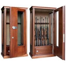 Элитный сейф для оружия ОШЭЛ-835Б с отделкой шпоном дуба