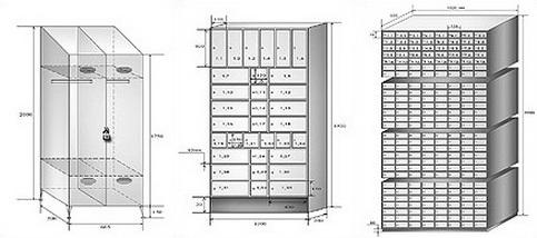 нестандартные шкафы по размерам